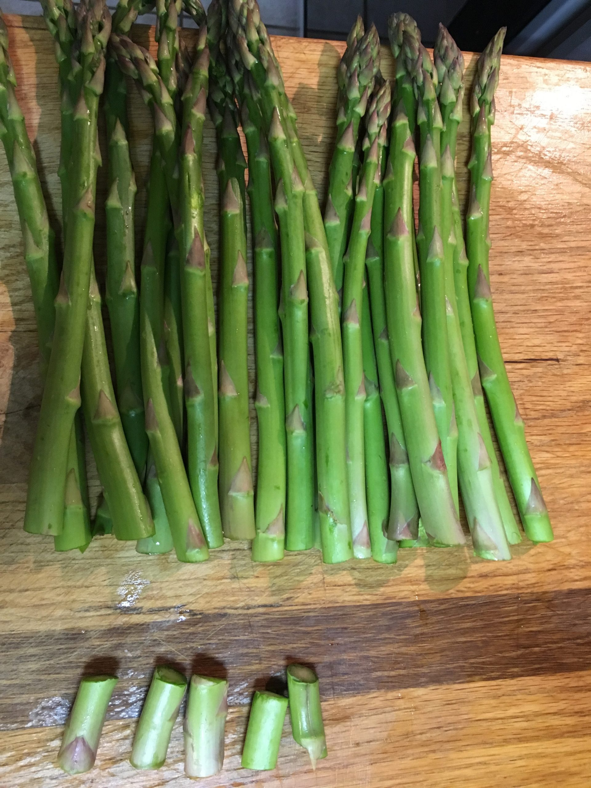 how to cook asparagus in a griddle pan