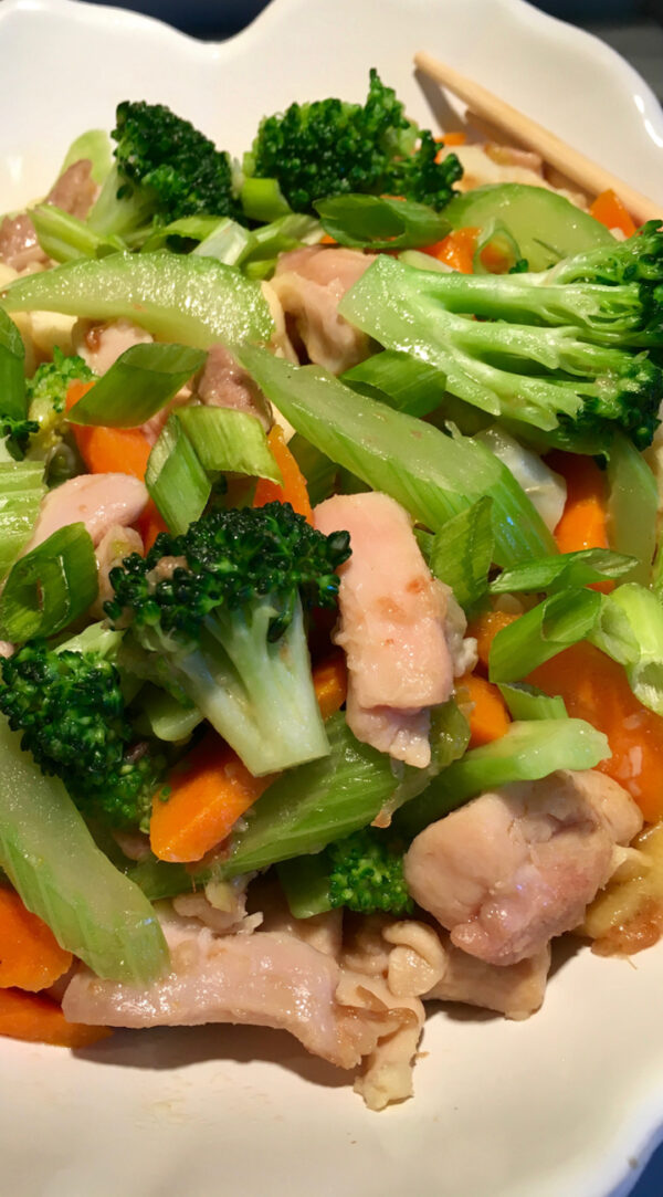 Chicken and Vegetables Stir Fry
