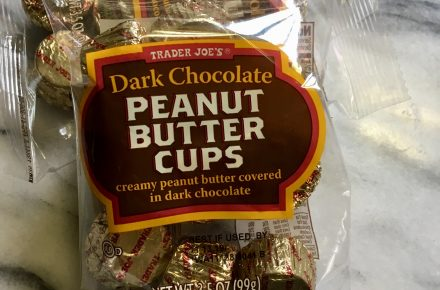 simple things - chocolate covered peanut butter cups